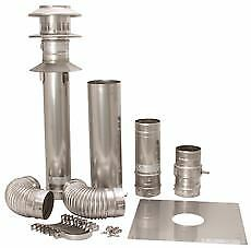 Noritz Tankless Water Heater Single-Wall, Vertical Termination Vent Kit