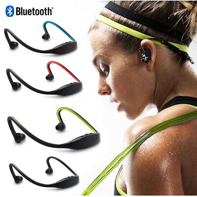 Wireless Bluetooth Sports Earphone Headset Stereo Headphones Gym Neckband in-Ear