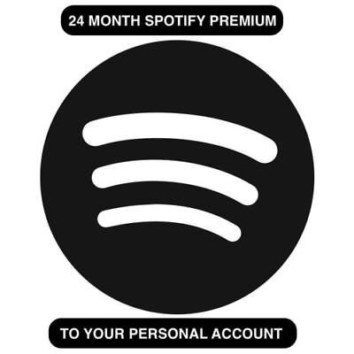 Spotify 24 Months Premium | READ DESCRIPTION | 12 Hr DELIVERY | WORKS WORLDWIDE