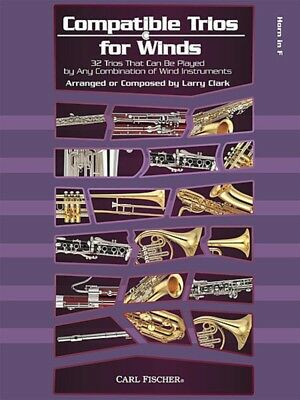 Compatible Trios For Winds - French Horn - 32 Trios for Wind Instruments - Book