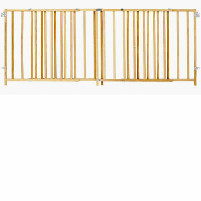 """NO TAX North State Supergate Extra 60""""-103"""" Wide Swing Gate Baby Pet Safety Wood"""