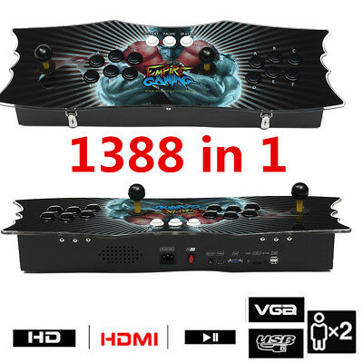 PRO 1388 in 1 Classical Game 2 Players Pandoras Box Arcade Video Console Gamepad