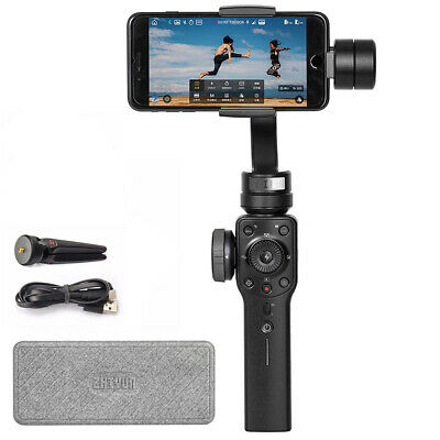 Zhiyun Smooth 4, 3-Axis Gimbal Stabilizer in White for Smartphone Up to 7.4 oz