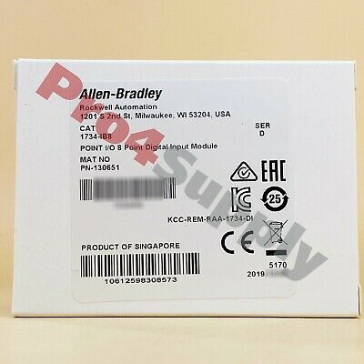2017/2018 US Stock Allen-Bradley POINT I/O 8Point Digital Input Module 1734-IB8