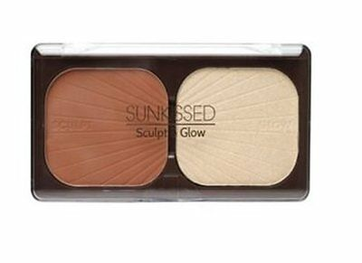 Sunkissed Sculpt & Glow Bronzer & Highlighter 20g.For Face.