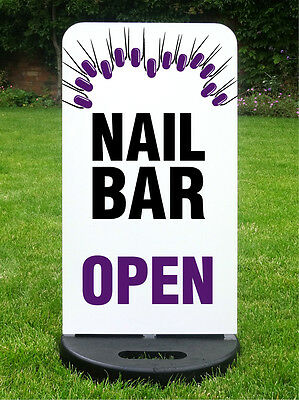 Beauty Salon Sign Clinic Nail Bar Custom Printed To Your Design