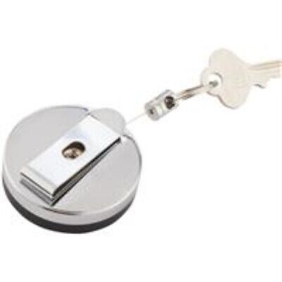 Custom Accessories 44446 Chrome Retractable Key Chain