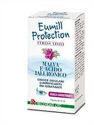 Eumill Protection Gocce oculari  Malva e Acido Ialuronico Flacone 10 ml
