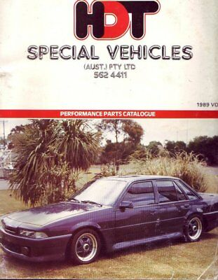 Hdt Special Vehicles Performance Parts Catalogue On Cd