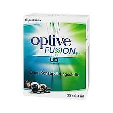 Allergan SpA Optive Fusion UD 30 Flaconcini da 0,4 ml
