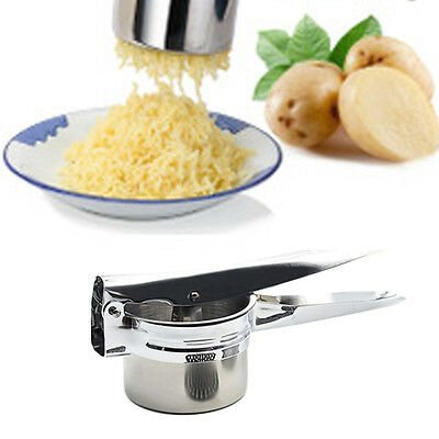 Stainless steel potato ricer cuisin art juicer puree fruit vegetable press maker