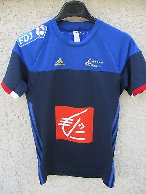 7d9271d26b494 MAILLOT HANDBALL OFFICIEL Equipe de France n°16 Thierry OMEYER ...