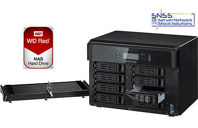 Buffalo TeraStation 5800 16TB 8 Bay (8 x 2TB WD RED) NAS Server EX VAT £579