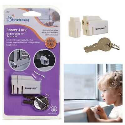 Home Secure Lock Limit Protect Glass Sliding Door Window Dream Baby Child Safety