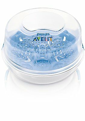 Philips Avent- Bottle Sterilizer Steam For Travel Microwave Compact NEW