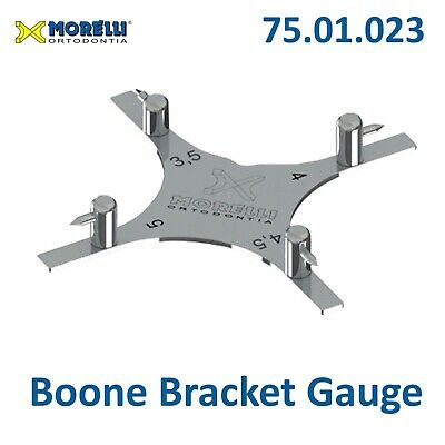 Morelli Dental Boone Gauge Orthodontic Bracket Positioner Star 75.01.23