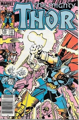 The Mighty Thor Comic Book #339 Marvel Comics 1984 NEAR MINT NEW UNREAD