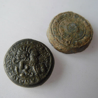 Very rare! 16-17th century lоt of 2 Theriac box seal