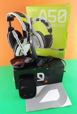 Used Astro A50 Wireless Gaming  Headphones for Xbox One Used -generic USB #AsiUs