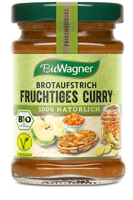 Bio Wagner Brotaufstrich Fruchtiges Curry 100g 4049164126108