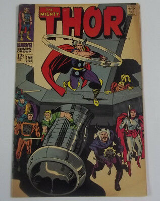 The Mighty Thor #156 (1st Print) 6.0 FN