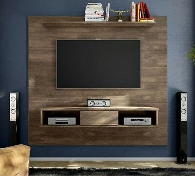 Floating Tv Stand 70 Entertainment Center Rustic Wall Unit Mount