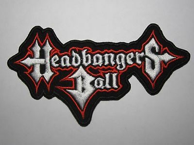 HEADBANGERS BALL logo embroidered NEW patch