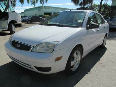 2006 Ford Focus  2006 Ford Focus ZX4 SE 4dr Sedan 2.0L I4 Runs Great *FLORIDA* Cold AC 4 Cylinder