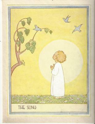 Christmas Card Artist.Christmas Card Artist Roberta Waudby The Song Child In The Sun Birds
