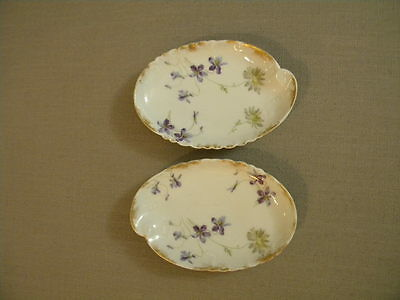 Haviland & Co Limoges France Two Small Dishes