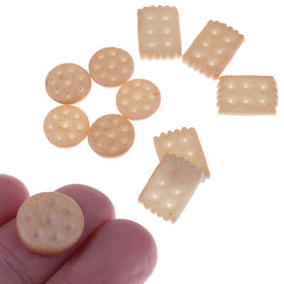 5pcs 1:6 scale Dollhouse Miniature Food model Miniature soda biscuit ToyGT