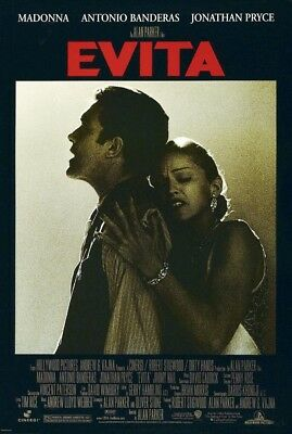 EVITA MOVIE POSTER 2 Sided ORIGINAL FINAL ROLLED 27x40