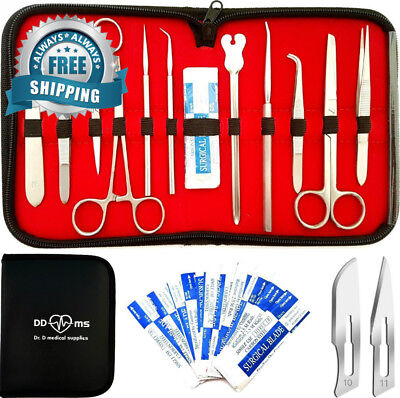 22 Pcs Advanced Dissection Kit For Anatomy & Biology Medical Students With...