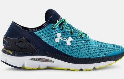 newest de2dc 2937e UNDER ARMOUR UA Speedform Gemini 2 Men's Running Sneaker Pacifique Navy  Rare Htf
