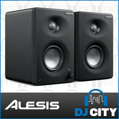 Alesis M1 Active 330 USB Powered 3-Inch Studio Monitors w/ USB Audio Interface