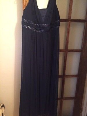 Mother Of The Bride Navy Size 18 (Just Gorgeous) David Bridal