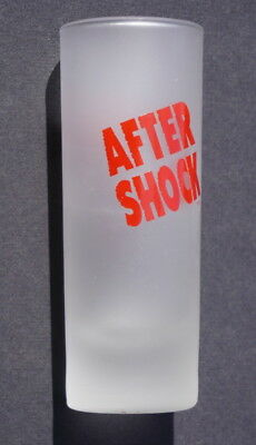 After Shock Cinnamon Liqueur Shooter Frosted Shot Glass mint