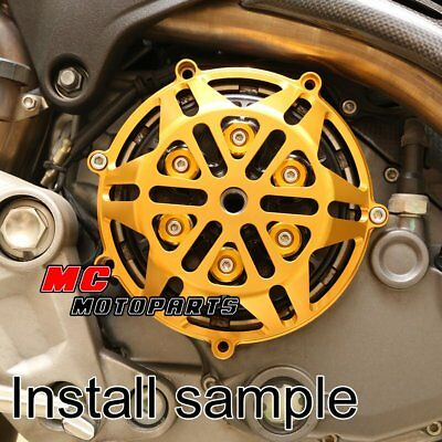 For Ducati Engine Billet Clutch Cover Gold For Hypermotard 1100 M1100 M900 CC21