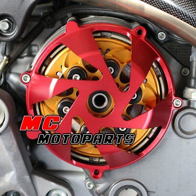 For Ducati Billet Clutch Cover Red For Monster S4RS S2R 1100 750ie 900ie CC15