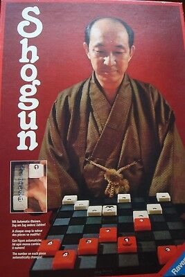 Shogun Strategic Board Game Ravensburg 1979