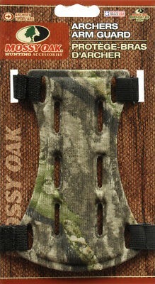 "Mossy Oak 6.5"" Camo Archer Armguard Arm Guard Protector Shooting Compound Bow"