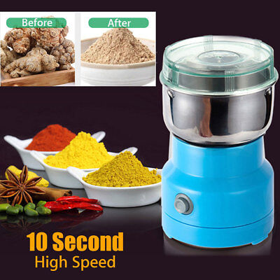 220V Electric Corn Herbs Spices Nuts Grains Coffee Bean Grinder Mill Grinding