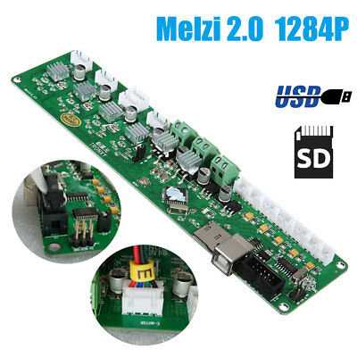 Motherboard 3D Printer Controller PCB Board USB For Tronxy Mainboard Melzi 2.0
