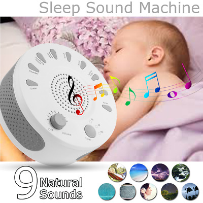 Deep Sleep Soothing Relax Machine Noise Therapy 9 Sounds 15/30/60min