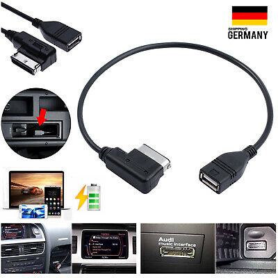 AMI MMI USB Adapter Musik Kabel Media Device Interface für AUDI VW Seat Skoda DE