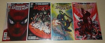 AMAZING SPIDER-MAN 796 797 798 799 1st print ALL NM Alex Ross 1st Red Goblin