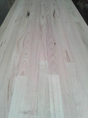 Vic ash Tas oak bench $65a top 2100x600x26mm kitchen table timber benchtop