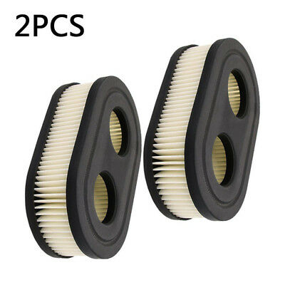 2pcs Lawn Mower Air Filter For Briggs & Stratton 798452 5432 593260 Replacement*