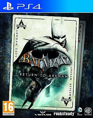 Batman return to Arkham - PS4 IMPORT neuf sous blister