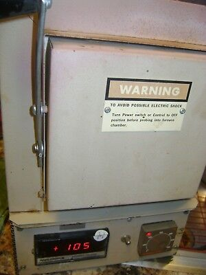 Thermolyne Ceramic Oven Furnance   F-B1415 M    Pre-Owned  Working